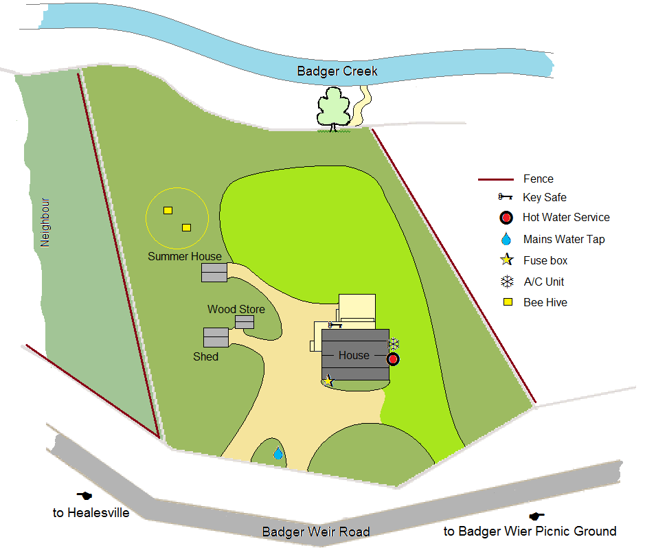 Site plan with services 2